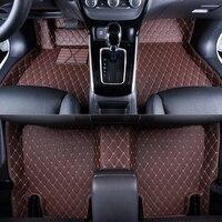 WLMWL Car Floor Mats For SEAT all model LEON Toledo Ateca IBL exeo arona car styling accessories Car Carpet Covers floor mats