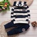 BibiCola primavera outono nova moda bebê das meninas dos meninos hoodies esporte terno conjunto de roupas Crianças criança crianças casuais conjunto agasalho