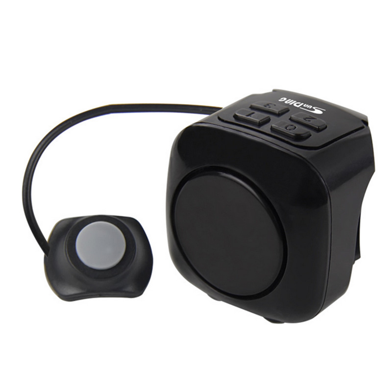 Cycling Bell Bike Anti-theft Lock Alarm Horn Bicycle Speaker Loud Sound Electric Motorcycle Bells