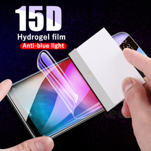 15D Anti-blue light Hydrogel Film For Xiaomi Mi 9 SE 9t 8 A2 A1 Lite Screen Protector For Xiaomi Redmi Note 7 K20 Pro Not Glass(China)