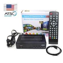 USA Canada Mexico Korea Digital Converters Tuner RECEIVER Decode HDMI Signal Terrestrial ATSC TV Set Top BOX