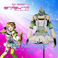 [STOCK] Anime Love Live Hanayo Koizumi Crayon/Painter Awakening Cosplay Costume XS XXL For Wome Halloween Free Shipping New 2018