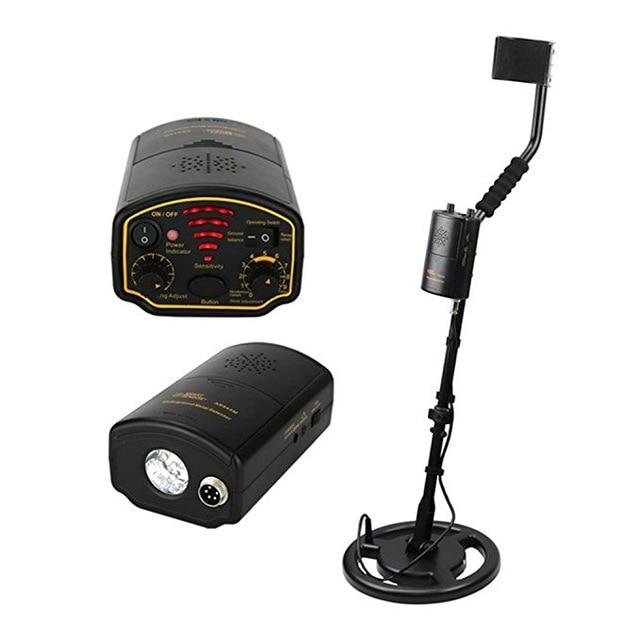 Professional металлоискатель подземная Глубина 1,5 м сканер локатор инструмент для Gold Digger Treasure Seeker Hunter 1200mA li battery