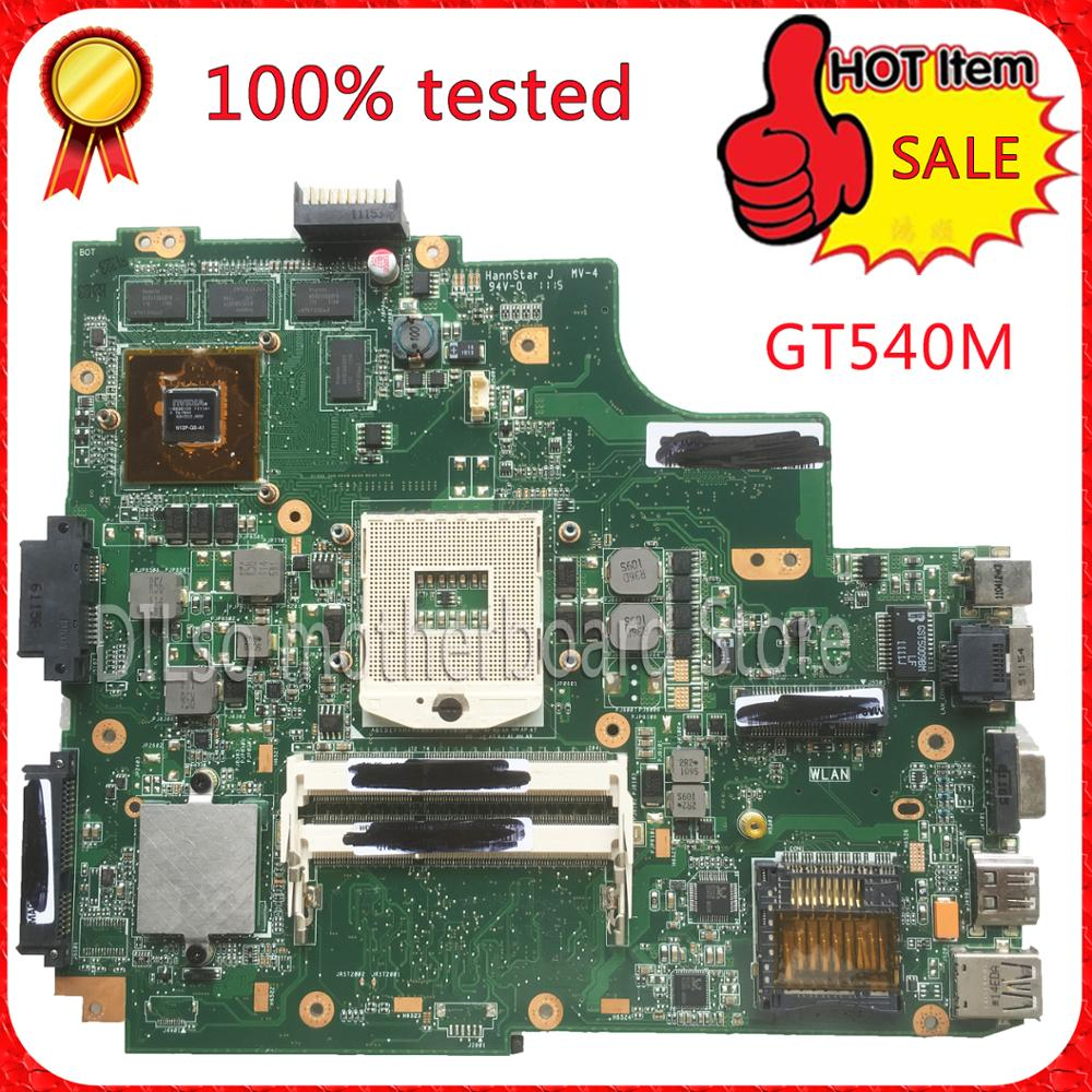 Фотография For ASUS K43SV K43SJ laptop motherboard  1G video card K43SV original new mainboard GT540M REV2.2 & rev2.0 & rev3.0 100% tested