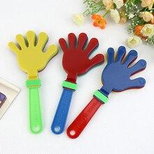 Мода красочные руки Хлопушка концертный вечерние реквизит для болельщиков дети хлопают в ладоши маленькие руки хлопающие игрушки