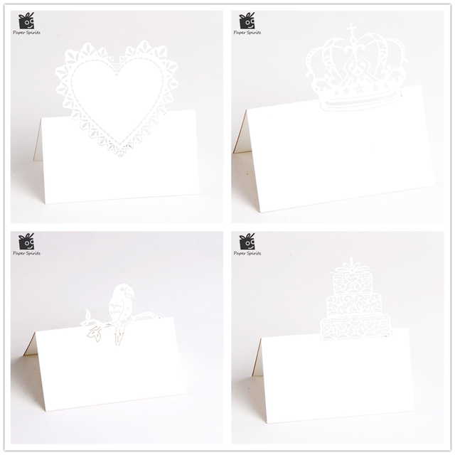 custom 3d laser cut wedding invitation rsvp cards small message gift