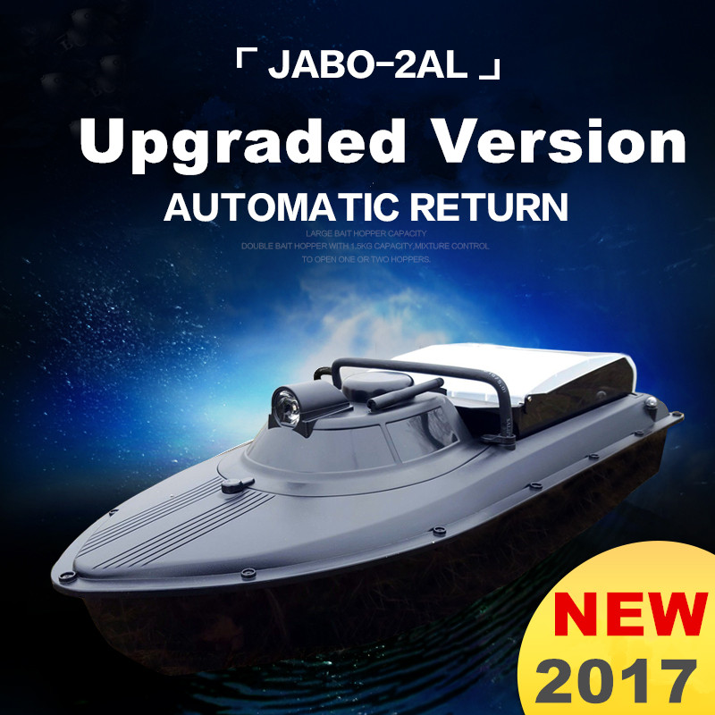 JABO 2AL Remote Control Bait Boat Upgrade Version RC Boat For Fish Finder Optional Fishing Boat