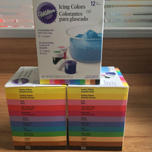 Free shipping America Wilton Double sugar cake pigment color paste food baking wilton 12