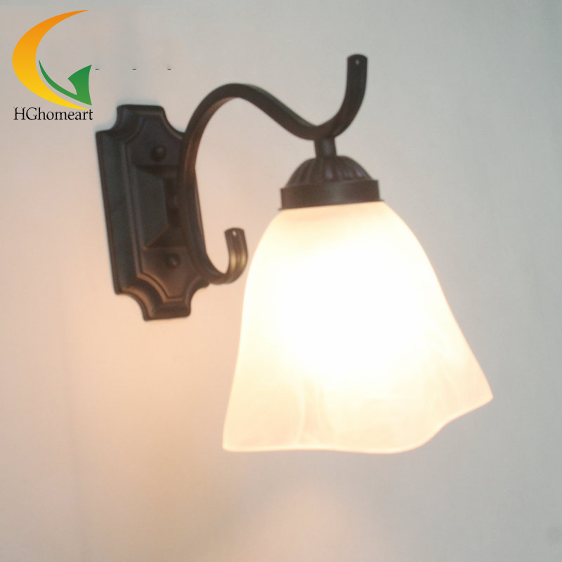 European-style wall lamp bedside lamp bedroom balcony hallway entrance hallway wall lamp bathroom mirror wall lamp цена