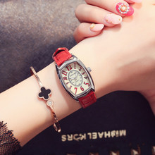 Women Watches Luxury Brand Fashion Casual Leather Quartz Watch Analog Ladies Elegant Wrist Watch Female Clock Relogio Feminino цена