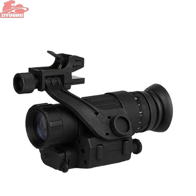 PVS-14 Military IR Digitale Nachtsicht Monocular Optics Anblick Montieren auf Gewehr/Kopf Sichtung Teleskop für Jagd Schießen