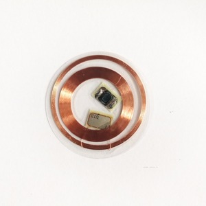 Image 2 - 13.56MHz 125KHz ID IC étiquettes inscriptibles T5577 UID double fréquence cartes transparentes RFID étiquettes passives