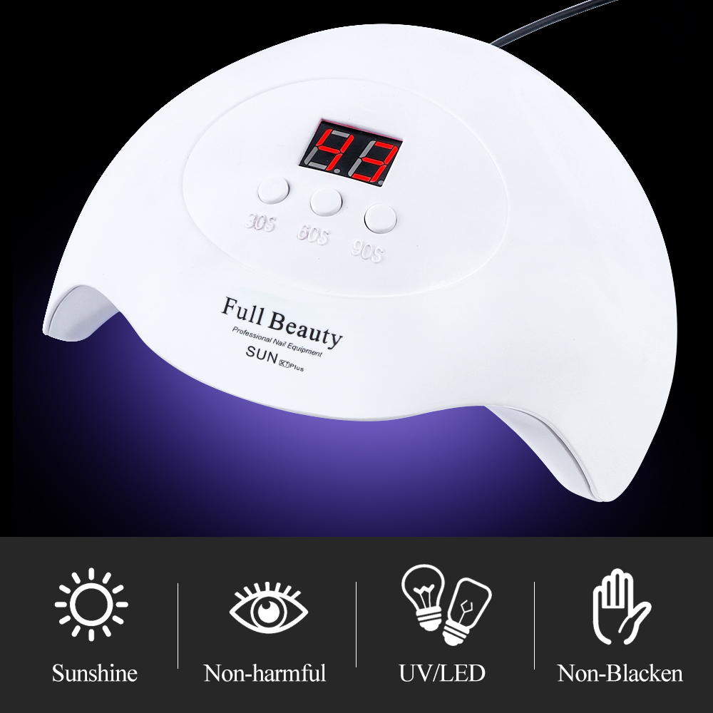 Pro UV LED Lamp Nail Dryer For All Gel Polish With Fast Dry Smart Timing Nail Art Tool 1