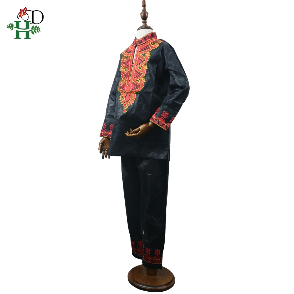 Image 3 - dashiki kid set 2019 african clothing kids boy south africa boys embroidery tops pant suits autumn outfit  TZ8006-in Africa Clothing from Novelty & Special Use