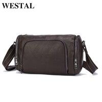 MARRATN Men Bag Genuine Leather Man Crossbody Shoulder Handbag Men Business Bags Male Messenger Leather Satchel