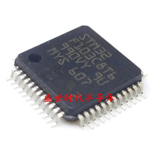10pcs/lot STM32F103C8T6 STM32F103C8 QFP ARM new original free shipping(China)