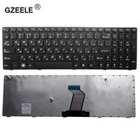 GZEELE רוסית מקלדת מחשב נייד עבור Lenovo 25012636 25012459 25013317 25013375 25011910 25013250 25013206 9Z.N5SSW.A0R RU מסגרת