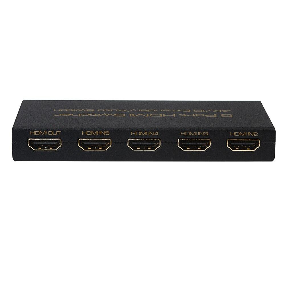 Computer-peripheriegeräte Verantwortlich Usps 5-port 4 K Hdmi Switcher Switch Selector Splitter Hub Für Hdtv 1080 P 2019 Neue Tropfen Verschiffen