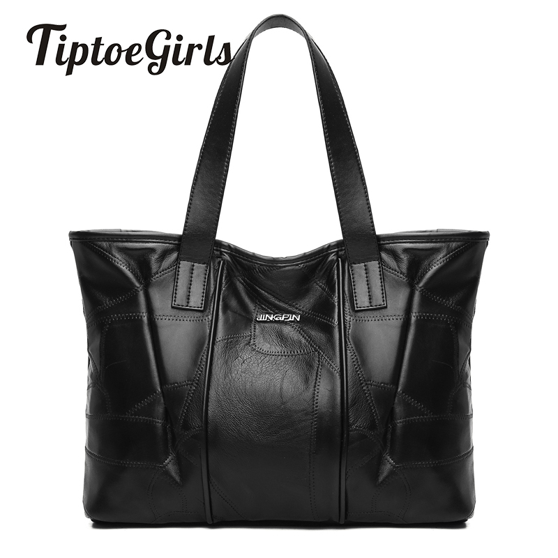 Europe and the United States New Trendy Fashion Personality Handbag Large Capacity Casual Soft Shoulder Shoulder Messenger Bag 18 years in europe and the united states new custom personality design show small retro unique portable organ leather handbags