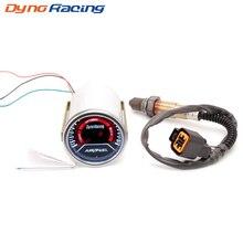 Dynoracing 52mm Car Auto Air Fuel Ratio Gauge Smoke Lens Front Narrowband Oxygen Sensor For 1999-2010 Hyundai Accent