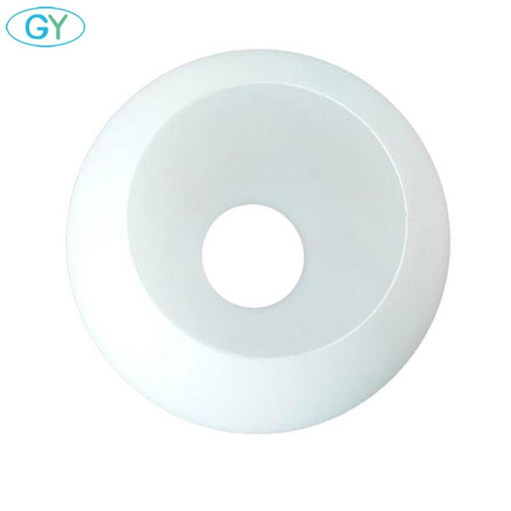 Biały glob szklany klosz lampy E27 mleczny szklany klosz część oświetlenie akcesoria E27 oprawka do wisiorek żyrandol stołowy