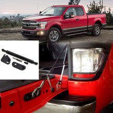 For Ford F150 F-150 2015 2016 2017 2018 Stainless Steel Car Rear Cargo Trunk Lift Support Shock Strut Rod Telescopic Rod 1pcs