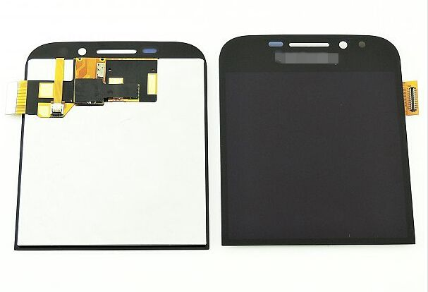 For Blackberry Q20 lcd display with touch glass digitizer assembly replacement screen black/White color for blackberry q20 lcd display with