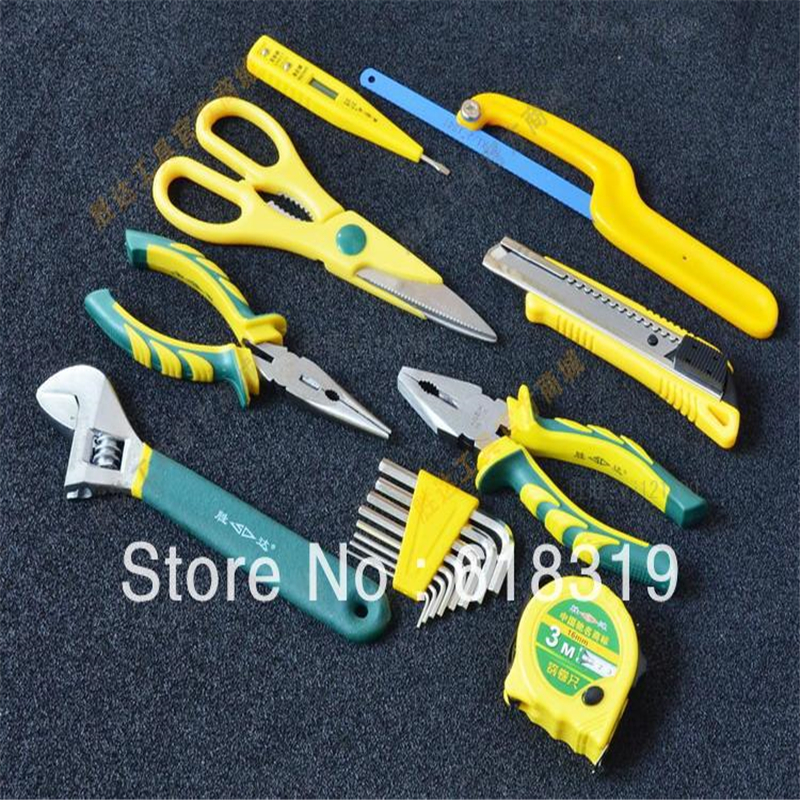 Fast Delivery Combination Plier Long Nose Plier Stripping 50pcs Home Tool Set craftsman 5 pc pliers set piece nose plier tool needle fast free ship