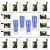 Mini Size 220V 1CH 1CH 10A Wireless Remote Control Switch Relay 16 X Receiver 4 X
