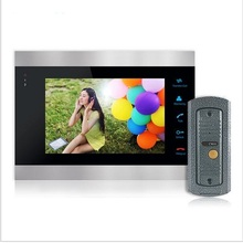 Homefong Buy  Monitor Get Doorbell  7 Inch Color LCD Video Door Phone Intercom System Door Release Unlock Doorbell Camera Free