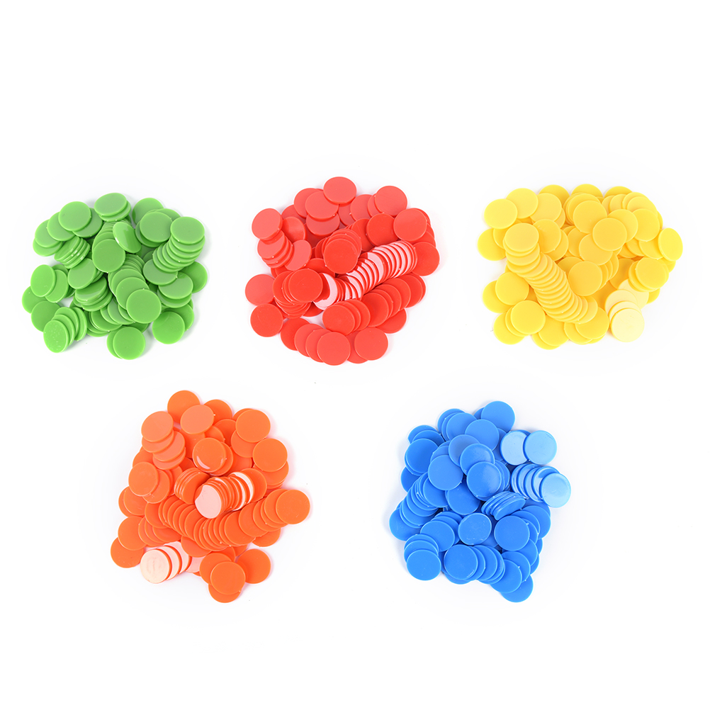 Friendly 50pcs Plastic Pro Count Bingo Chips Markers For Bingo Game Cards 1.5cm 4 Colors Random Color Back To Search Resultssports & Entertainment Entertainment