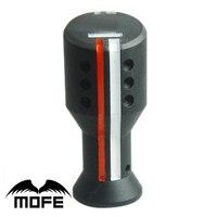 Original Logo Universal Manual MT Car Gear Shifter Knob Black 3 Adapters Diameters 8mm 10mm 12mm