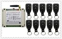 New AC220V 250V 380V 30A 2CH Remote Control Light Switch Relay Output Radio Receiver Module And