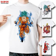 EATGE Anime Series Dragon Ball Z T Shirt Fashion Brand Short Sleeve Printed Tshirt Men