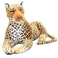 30 см Высококачественная имитация леопардовой Пантеры Плюшевая Игрушка имитация мягкого животного Классические игрушки для детей подарок ...