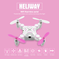 F18784 6 Heliway 901S WIFI 0 3MP Camera FPV Foldable RC Mini Pocket Drone Portable 2