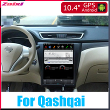 ZaiXi 10.4 inch Big screen Tesla Screen Vertical Android Car PC GPS Navigation Radio Player For Nissan Qashqai 2013~2019