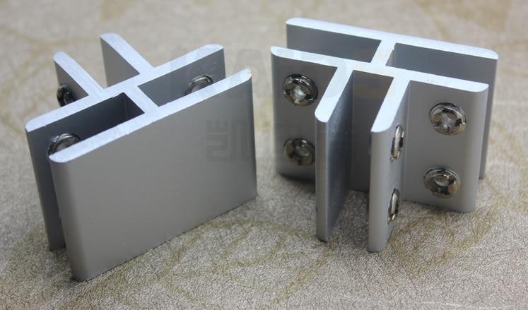 20pcs Lot Premintehdw Aluminum 3 Way T Tee Glass Connector