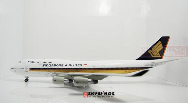 Inflight Singapore Airlines 9V-SMJ IF744602 1:200 B747-400 коммерческих самолет модели хобби