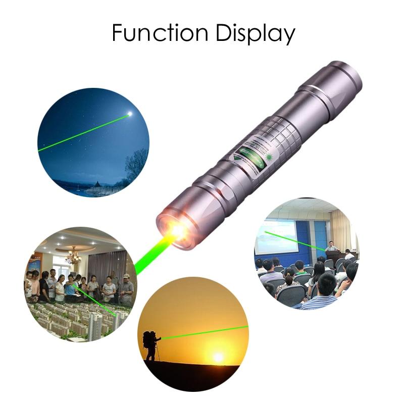 Высокомощная лазерная указка, охотничий зеленый лазер, Тактический лазерный прицел, ручка 303, сжигание лазерного пера, Мощный лазерный указ...