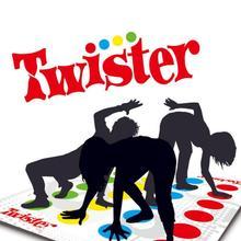 Twister подвижная игра семья весело Спорт на открытом воздухе игрушечные лошадки твист средства ухода за кожей Упражнение взаимодействие детс