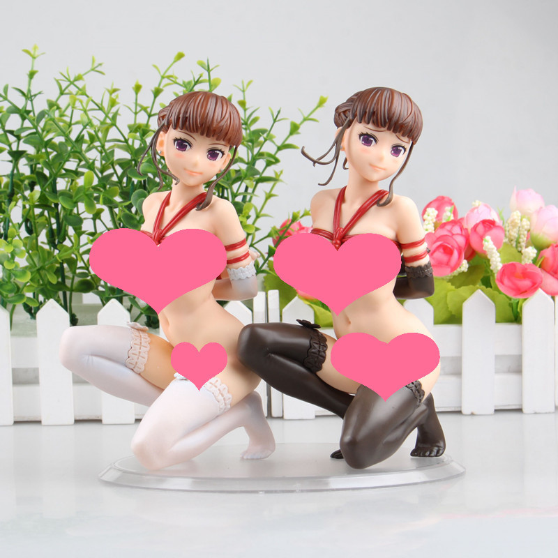 2 style 16cm Sexy Anime Q-six Euphoria Nemu Manaka PVC Action Figure Toy Collection Adult Boy Christmas Gifts Sexy plastic doll anime one piece dracula mihawk model garage kit pvc action figure classic collection toy doll