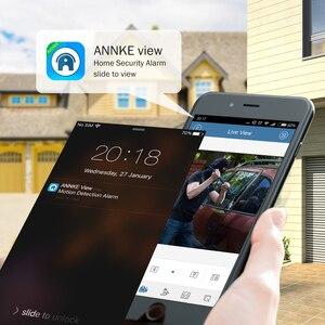 Image 3 - ANNKE Sistema de CCTV para exteriores, Kit de 4 canales, 1080P Lite, 1080P, DVR, 4 Uds., cámaras de seguridad de 2.0MP, Kit de videovigilancia nocturna IR