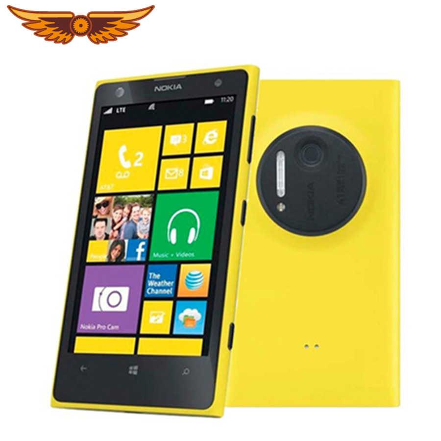 Лидер продаж Оригинальный разблокирована Nokia Lumia 1020 4,5 ''ОС Windows  Mobile 2