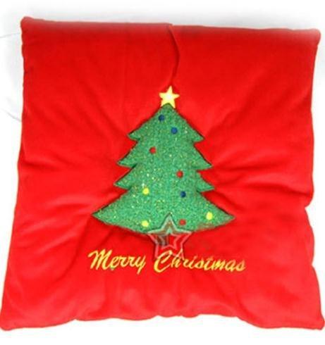 The Christmas tree USB warm care cushion