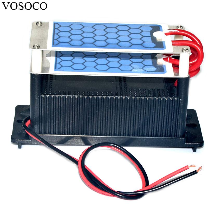 Ozone Generator 8g water Air sterilize Purifier treatment Integrated integrated ozone generator blue film moistureproof chip цена и фото