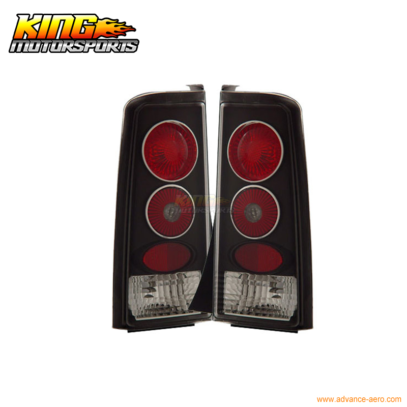 For 2004-05 06 07 Scion xB Tail Lights Lamps Black Lamps USA Domestic Free Shipping