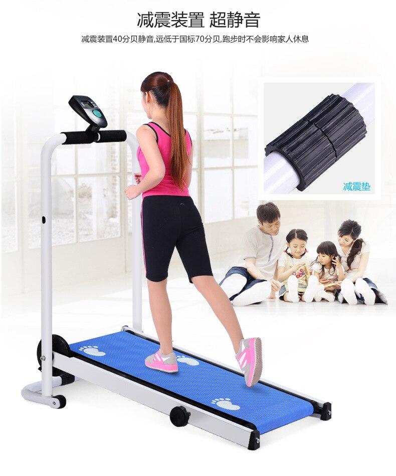 Mini tapis de course pliable pour équipement de Fitness muet 3 en 1