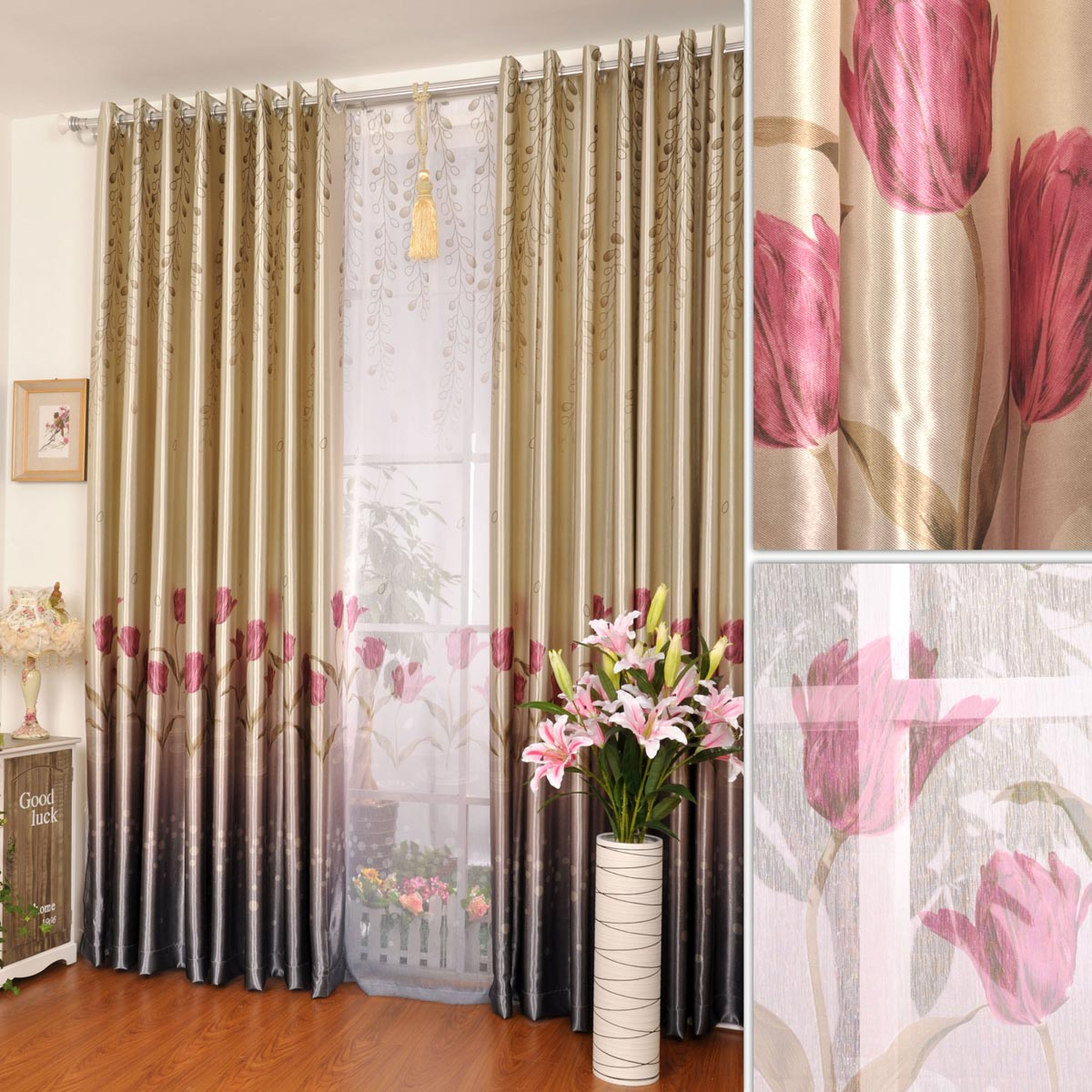 Modern curtains 2013 for living room -