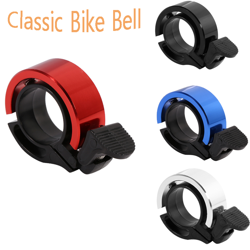 Mini Aluminium Alloy Invisible Bicycle Bell Loud Road Bike Handlebar Ring Bells Q CNC Environmental MTB Cycling Alarm Horn Sound